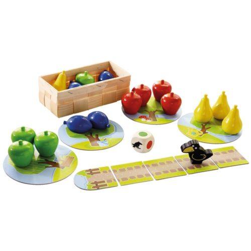 Premier Verger - Mes premiers jeux - Haba - contenu