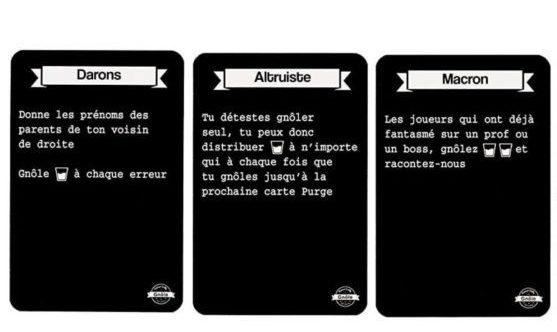 Gnole - cartes