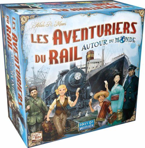 Les aventuriers du rail autour du monde - boite