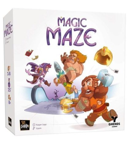 Magic Maze - boite