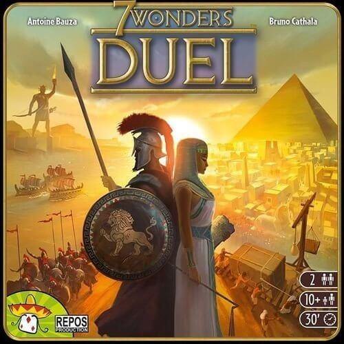7 Wonders duel - boite