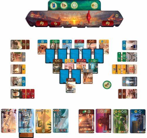7 Wonders duel - contenu