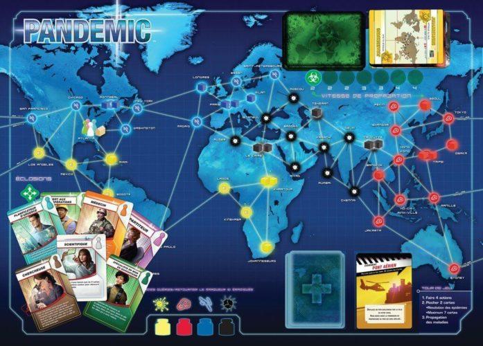 Pandémie - contenu