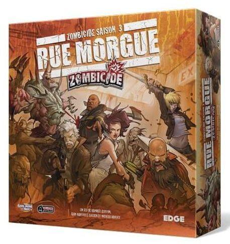 Zombicide - Rue Morgue - boite