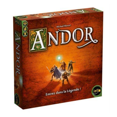 Andor Boite de jeux a 4 joueurs et moins