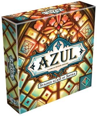 Azul Les Vitraux De Sintra - Boite jeux a 4 joueurs et moins