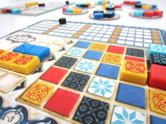 Azul Les Vitraux De Sintra - Contenu jeux a 4 joueurs et moins