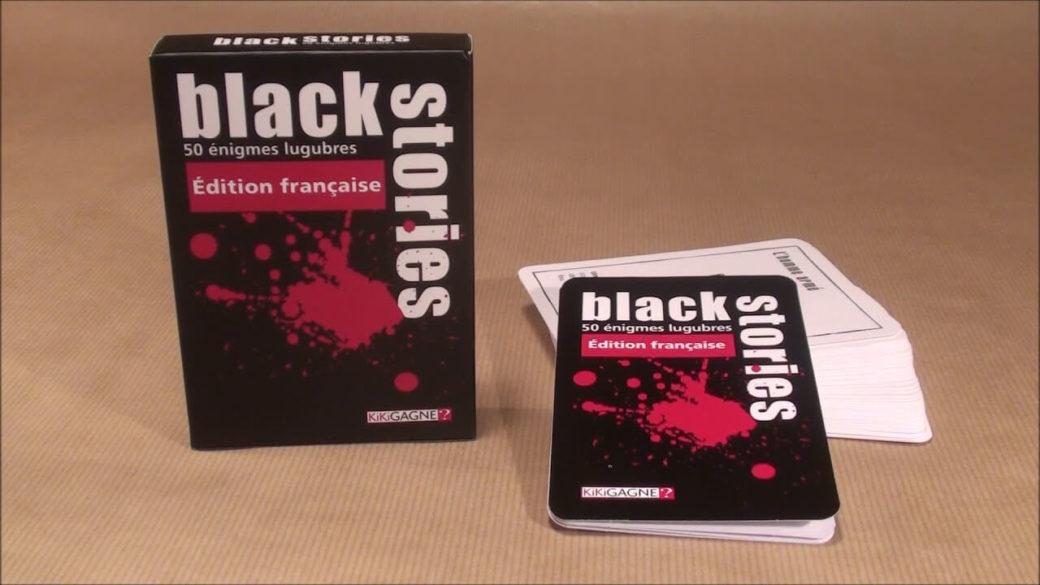 Black Stories est dans le top des meilleurs jeux de société entre amis