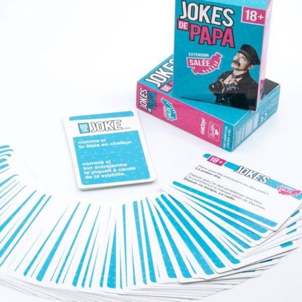 Jokes De Papa Version Salée dans le top des meilleurs jeux de société pour adultes