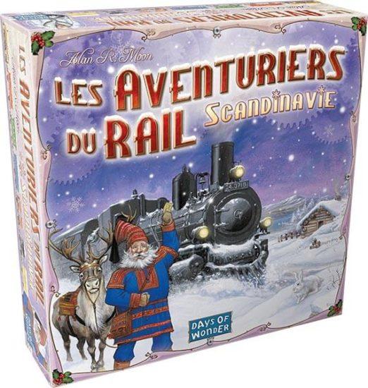 les aventuriers du rail scandinavie - boite