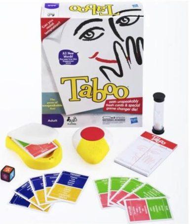 Taboo est dans le classement des meilleurs jeux de société à jouer entre amis