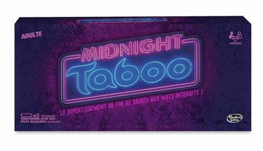Taboo Midnight, le meilleur jeu pour adultes en fin de soirée