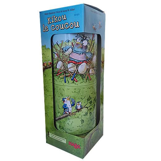 Kikou Le Coucou : le plus transportable des meilleurs jeux de société 4 ans