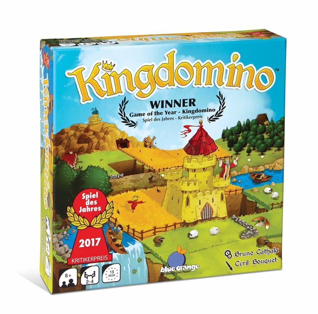 Kingdomino, un jeu ludique pour enfants de 8 ans