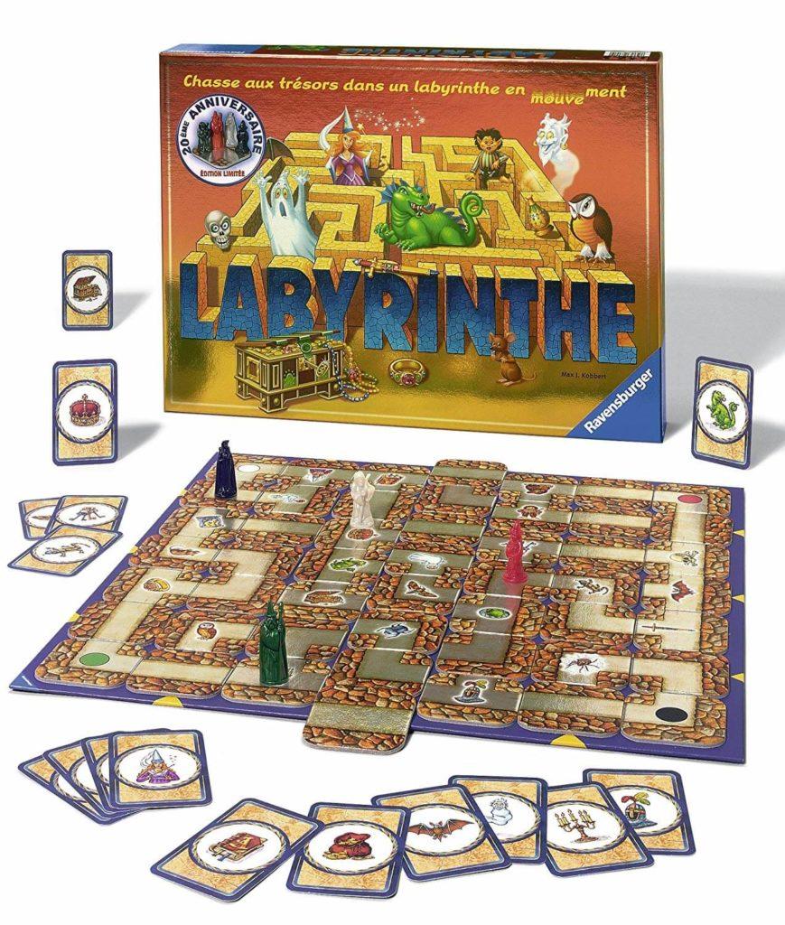 Labyrinthe, un classique des jeux pour enfants de 8 ans