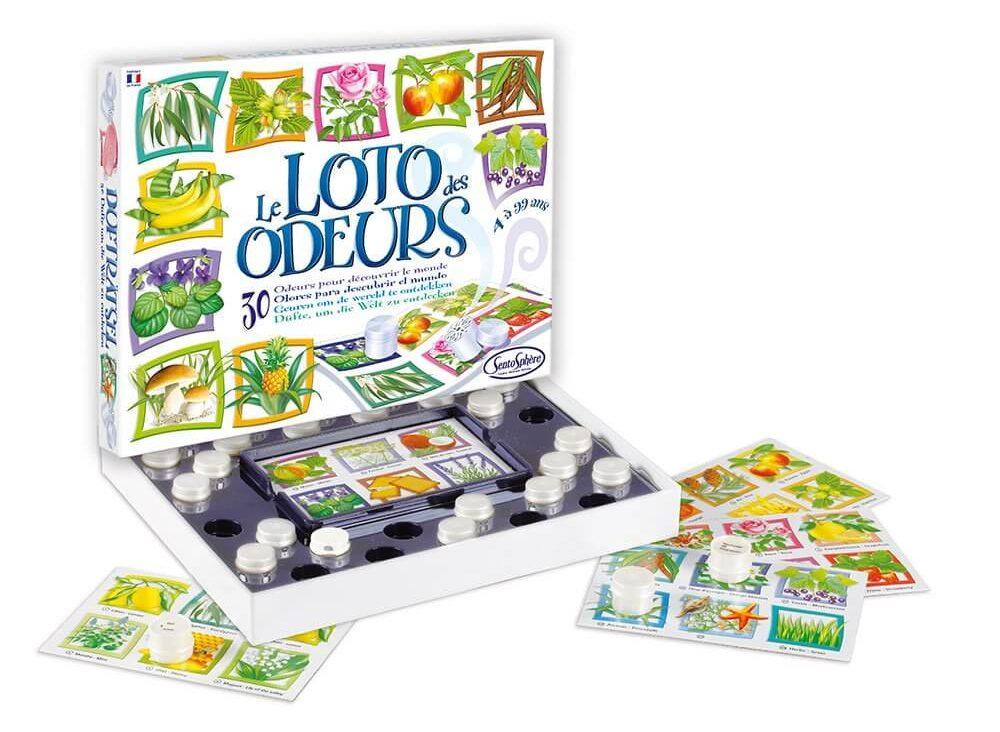 Le Loto Des Odeurs, le meilleur jeu olfactif pour enfant de 4 ans
