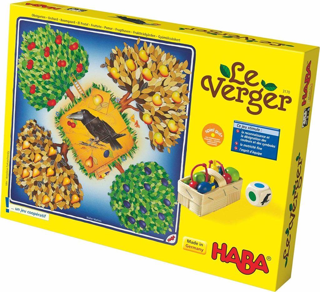 Le Verger : le jeu pour enfant de 4 ans apprenant la coopération