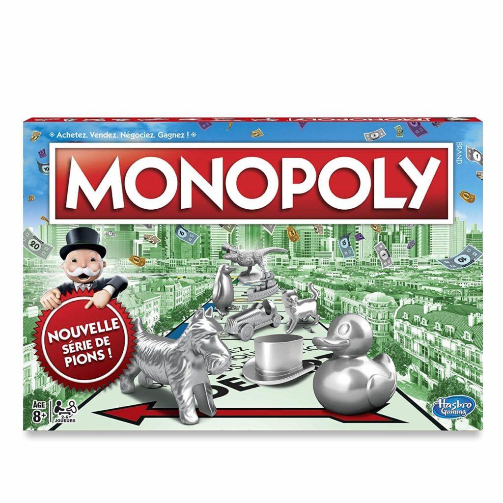 Monopoly, LE grand classique des meilleurs jeux de société pour enfants de 8 ans