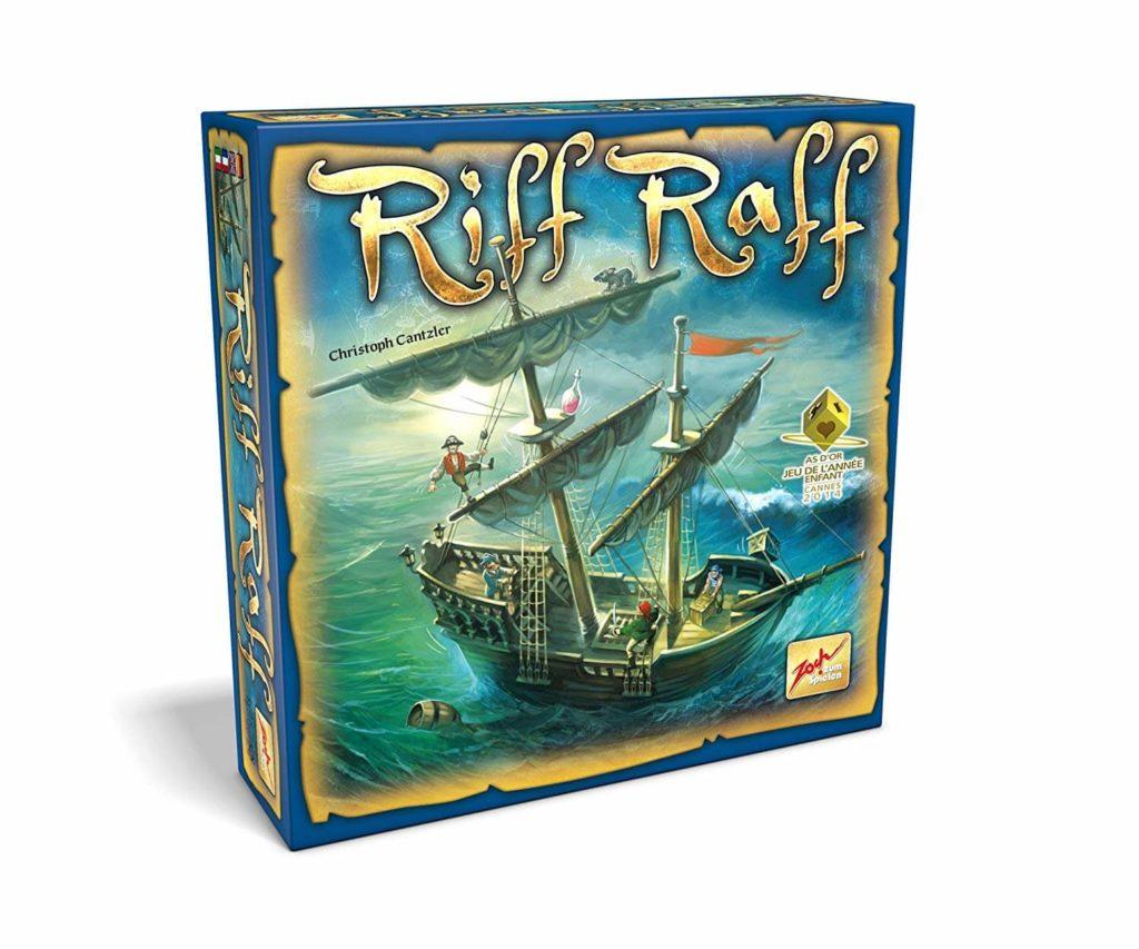 Riff Raff, le meilleur jeu d'équilibre pour enfants de 8 ans