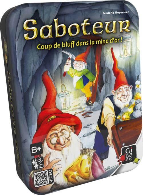 Saboteur : un jeu de stratégie sympathique pour enfants de 8 ans