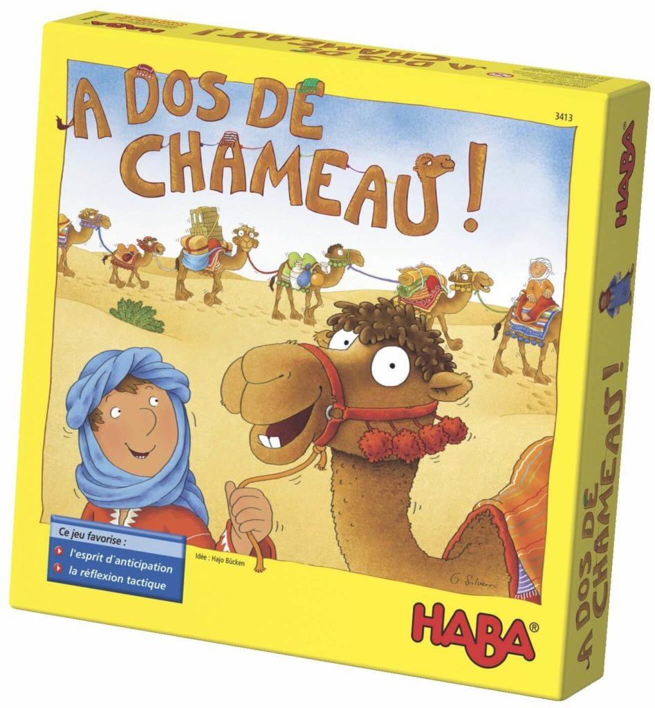 A Dos De Chameau, faites voyager vos enfants avec ce jeu HABA