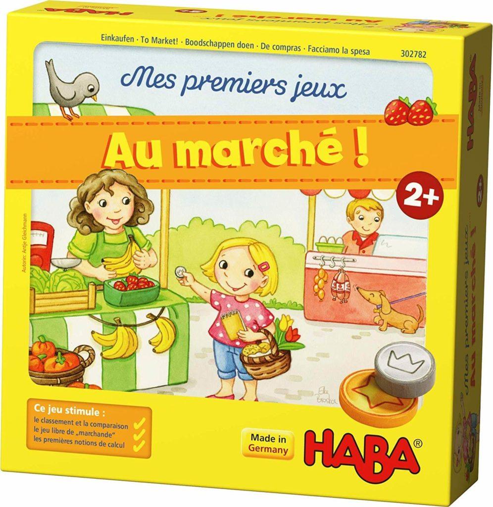Au Marché, un jeu HABA pour faire les courses comme les grands !