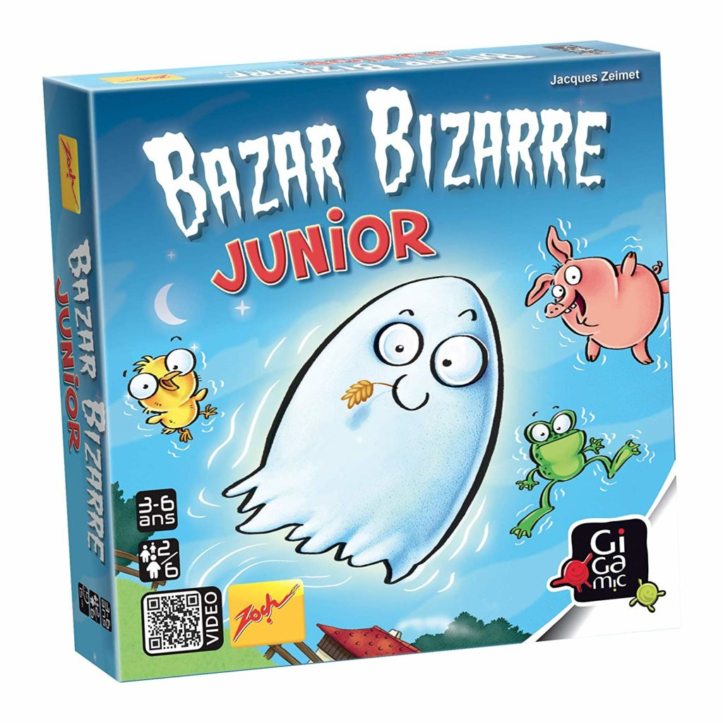 Bazar Bizarre Junior, le jeu d'observation et de rapidité pour les enfants de 3 ans