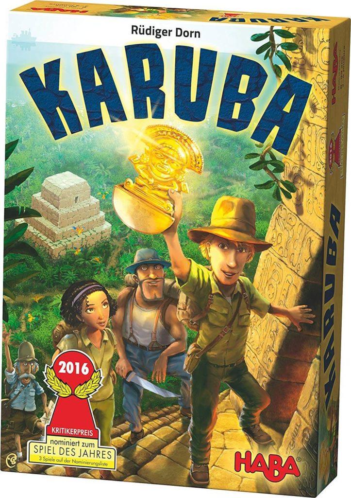 Karuba, l'un des jeux de société HABA à la mécanique la plus originale !
