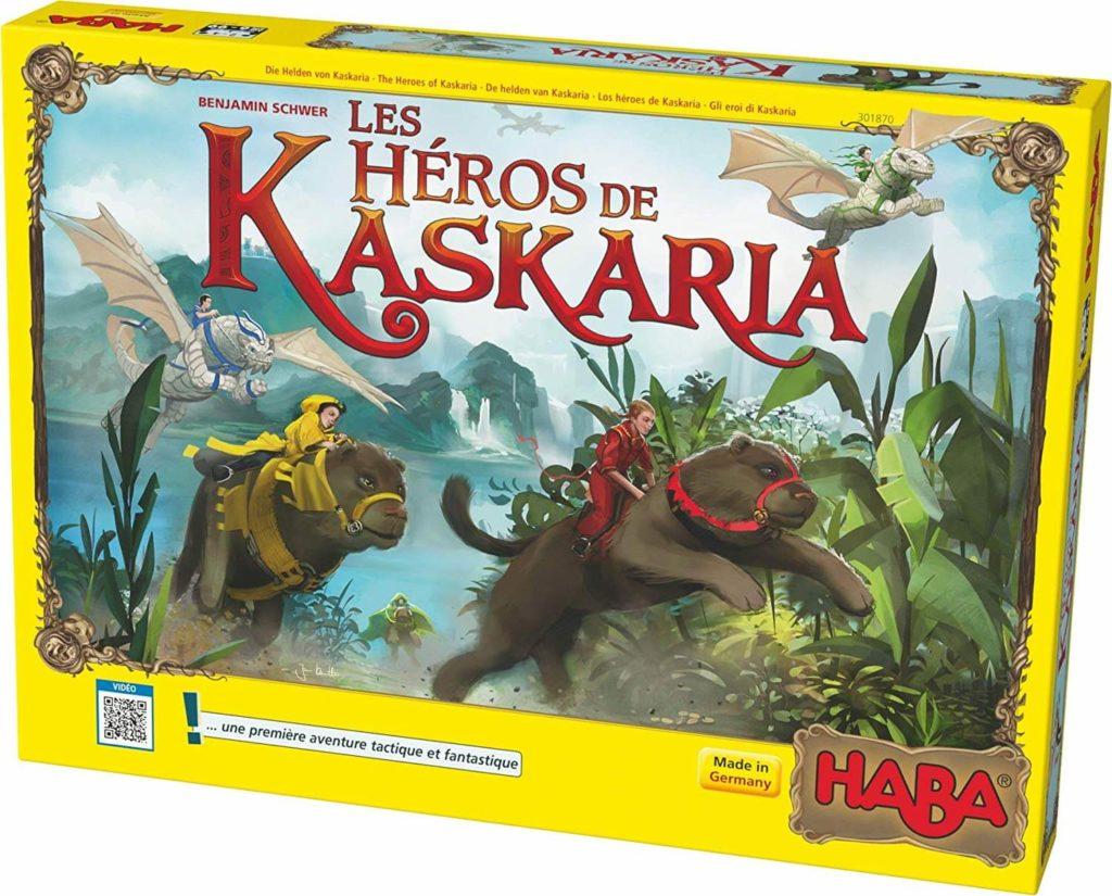Les Héros De Kaskaria, l'un des meilleurs jeux de société HABA pour devenir un héro !