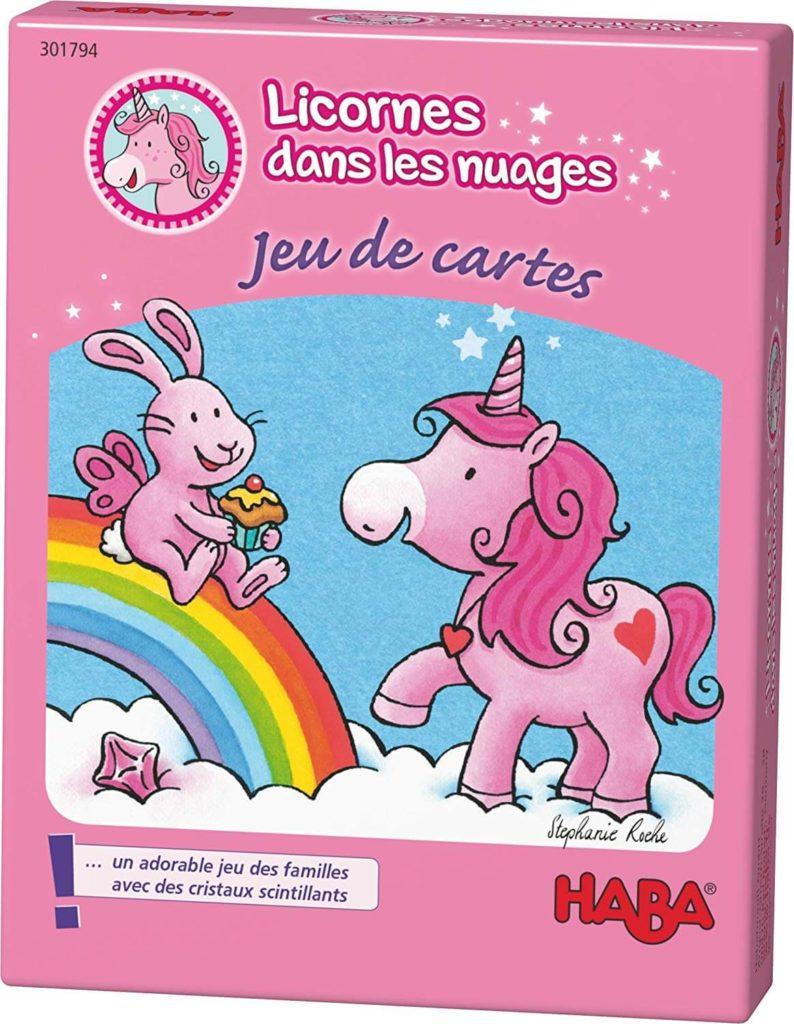 Licornes Dans Les Nuages Jeu De Cartes Boite