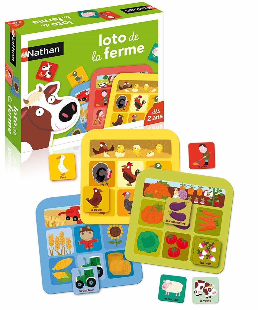 Loto De La Ferme, le meilleur jeu pour apprendre le vocabulaire de la ferme