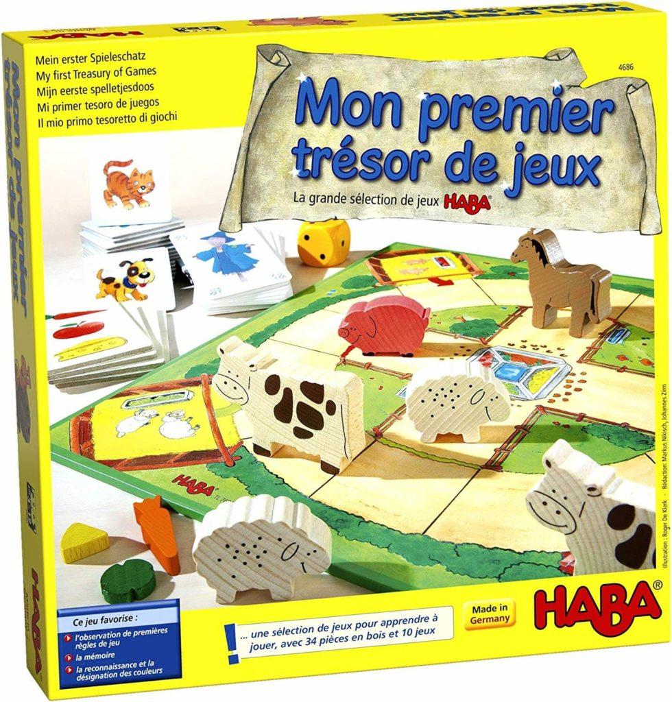 Mon Premier Trésor De Jeux, le coffret regroupant quelques-uns des meilleurs jeux HABA