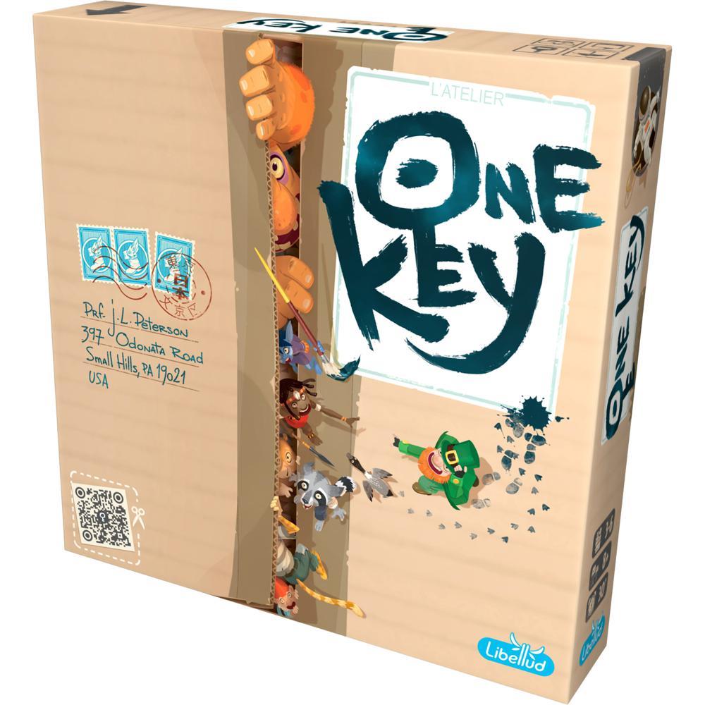One Key, le plus original des meilleurs jeux de société coopératifs