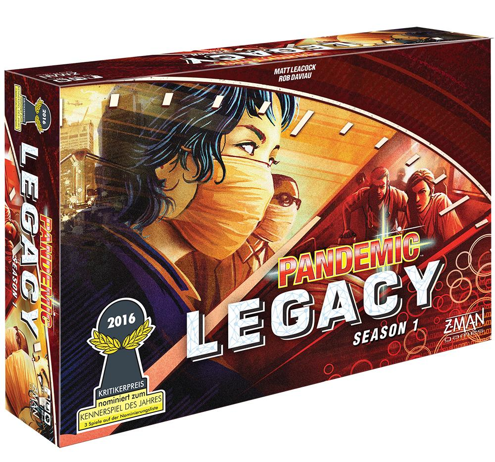 Pandemic Legacy Saison 1, le jeu collaboratif alliant sciences et déductions