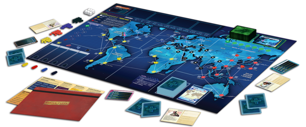 Pandemic Legacy Saison 1 Contenu