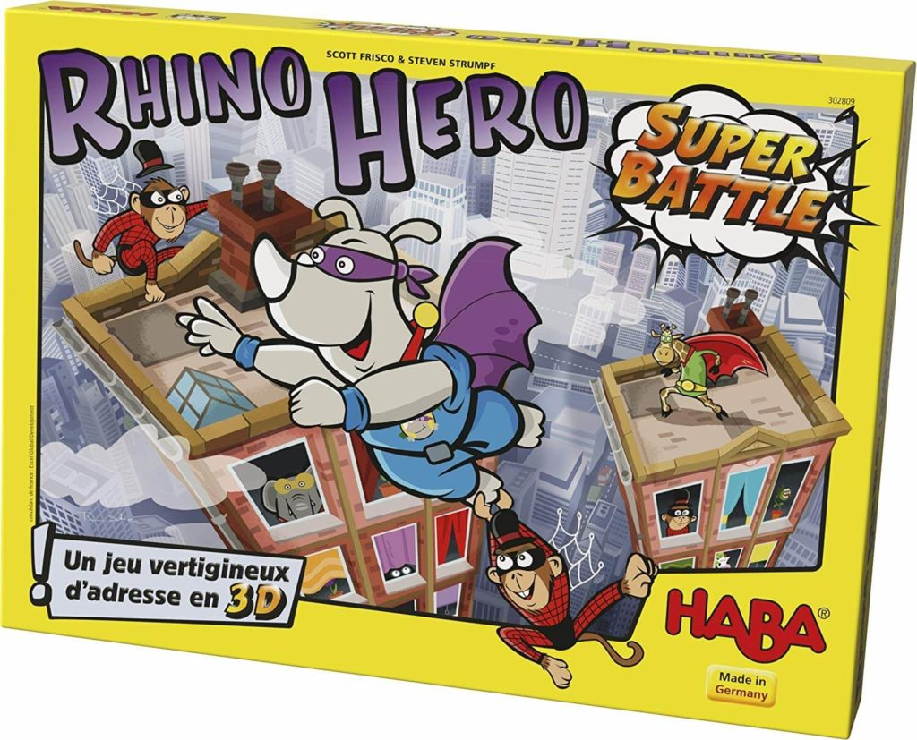 Rhino Hero Super Battle Boite