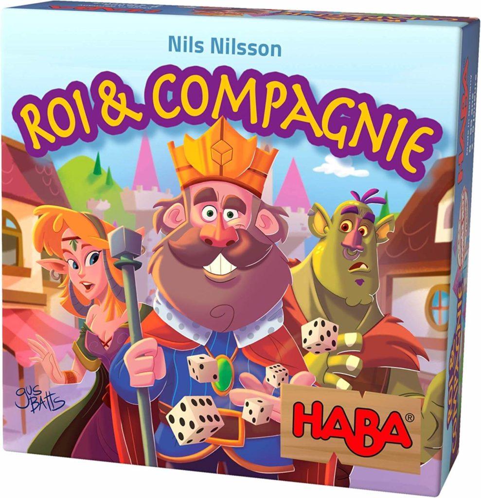 Roi & Compagnie, sachez vous entourer avec ce jeu de société HABA !